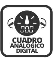 Cuadro analógico con display