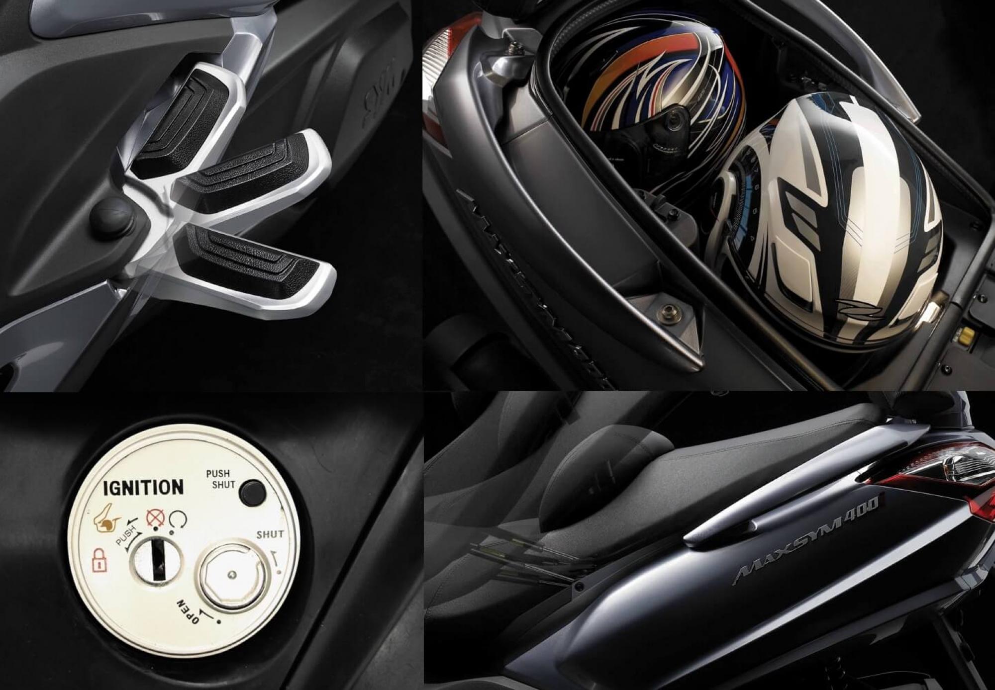 SYM Maxsym 400cc | Motos Sym