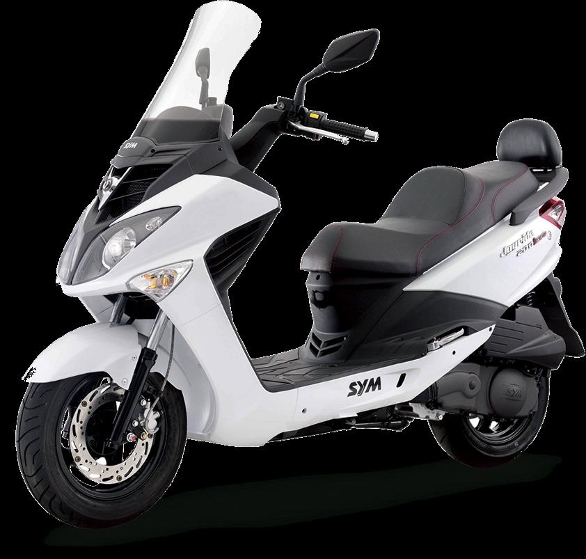 scooter sym joyride motos sym 125 y 200. Black Bedroom Furniture Sets. Home Design Ideas